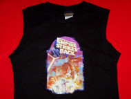 Star Wars Sleeveless Babydoll Shirt Empire Black Size Large