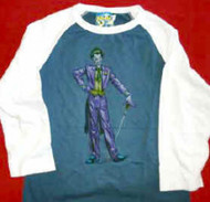 Batman The Joker Babydoll Jersey Shirt Women Size Medium