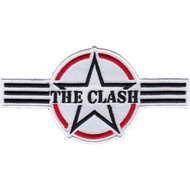 The Clash Iron-On Patch Air Force Star Logo