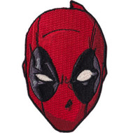 Deadpool Iron-On Patch Face Head