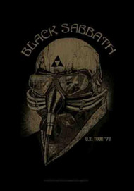 Black Sabbath Poster Flag US Tour 1978 Tapestry