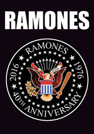 The Ramones Poster Flag 40th Anniversary Tapestry