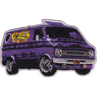 Beastie Boys Iron-On Patch Purple Van Logo