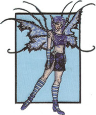 Amy Brown Iron-On Patch Mayhem Fairy