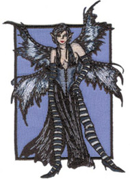 Amy Brown Iron-On Patch Turmoil Fairy