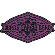 Jerry Garcia Band Iron-On Patch Purple Deal Logo