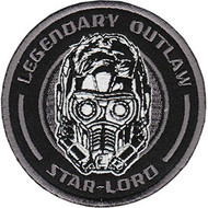 Guardians Of The Galaxy Iron-On Patch Legendary Outlaw Star-Lord