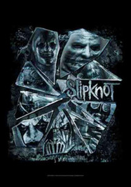 Slipknot Poster Flag Broken Glass Tapestry