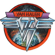 Van Halen Iron-On Patch Space Logo