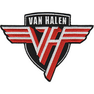 Van Halen Iron-On Patch Shield Logo