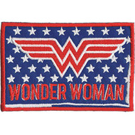 Wonder Woman Iron-On Patch Stars Letters Logo