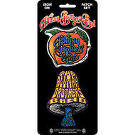Allman Brothers Band Iron-On Patch Set Mushroom And Peach