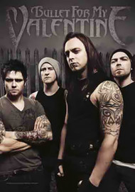 Bullet For My Valentine Poster Flag Band Photo Tapestry