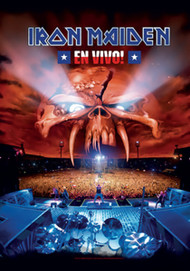 Iron Maiden Poster Flag En Vivo Logo Tapestry