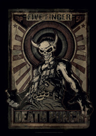 Five Finger Death Punch Poster Flag Mercenary Tapestry