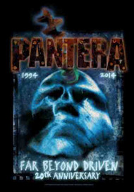 Pantera Poster Flag Far Beyond Driven 20th Anniversary Tapestry