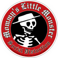 Social Distortion Vinyl Sticker Mommy's Little Monster