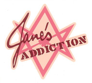 Jane's Addiction Vinyl Sticker Star Letters Logo