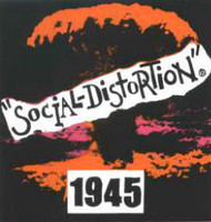 Social Distortion Vinyl Sticker 1945 Logo
