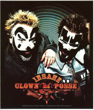 Insane Clown Posse Vinyl Sticker Close Up Photo Logo