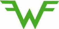Weezer Vinyl Cut Sticker Green Wings Logo