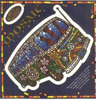 Volkswagon VW Bus Mosaic Window Sticker