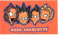 Good Charlotte Vinyl Sticker Animated Logo