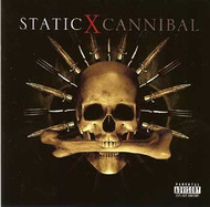 Static-X Vinyl Sticker Cannibal Logo