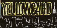 Yellowcard Vinyl Sticker Skyline Letters Logo
