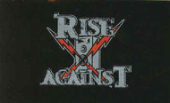 Rise Against Vinyl Sticker Speaker Bolts Logo