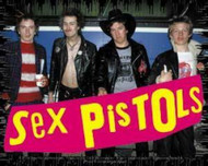 Sex Pistols Vinyl Sticker Group Photo Logo