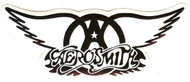 Aerosmith Vinyl Sticker Black Wings Logo