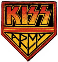 Kiss Army Iron-On Patch