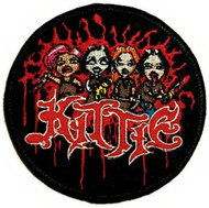 Kittie Iron-On Patch Cartoon Logo