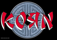 Korn Poster Flag Asian Letters Logo
