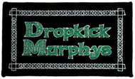 Dropkick Murphys Iron-On Patch Green Letters Logo