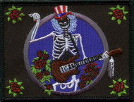 Grateful Dead Iron-On Patch Electric Sam