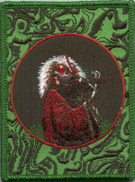 Grateful Dead Iron-On Patch Blues For Allah