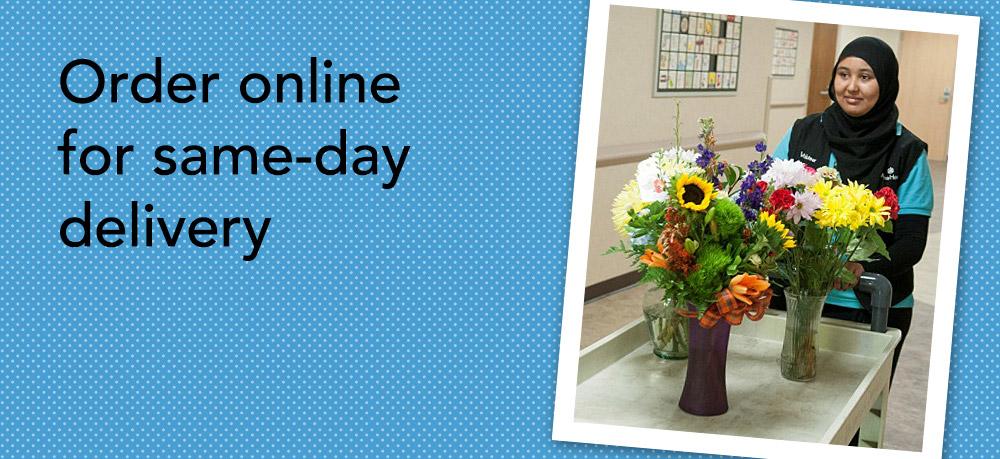 Order online for same-day delivery