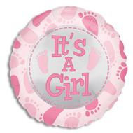 "Mylar balloon add-on; ""It's a Girl!"""