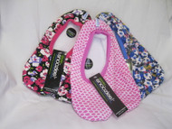 Snoozies!  Lightweight cozy footcoverings