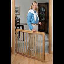 Furniture Style Baby Gate, Light Oak by Evenflo