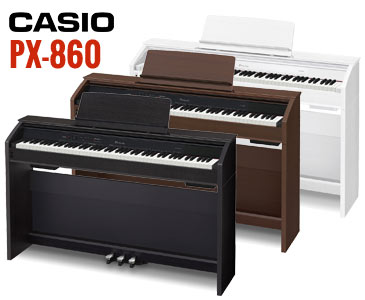 casio privia px 760 and px 860 digital pianos new for 2015 austin bazaar music. Black Bedroom Furniture Sets. Home Design Ideas