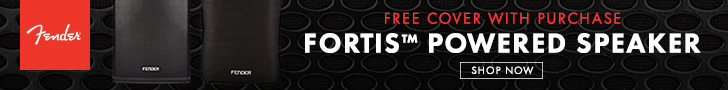 Free speaker cover with purchase of Fortis Powered Speaker
