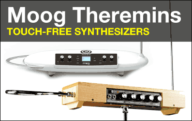 Shop Moog Theremin and Theremini