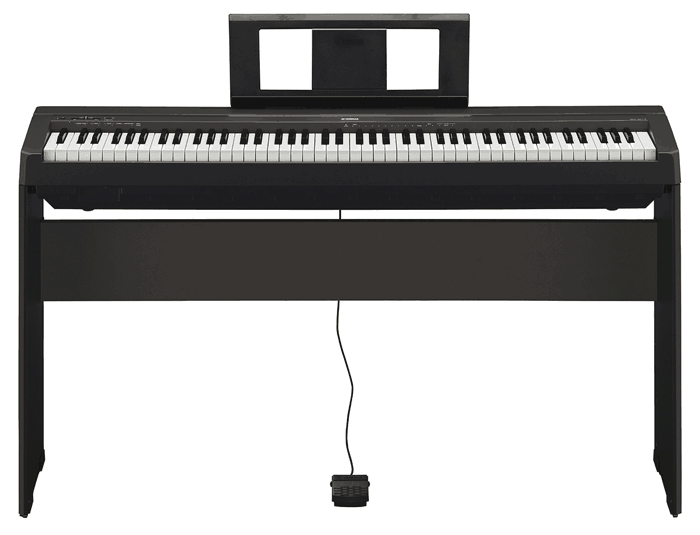 new yamaha p115 and p45 pianos updates to p105 p35 austin bazaar music. Black Bedroom Furniture Sets. Home Design Ideas