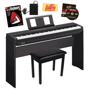 Digital piano and keyboard buying guide austin bazaar music for Yamaha p45b keyboard