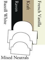 Tri-Fold Ovals - Neutrals
