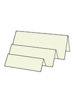 Tri-Fold Right - French Vanilla 10pk