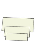 Tri-Fold Centre - French Vanilla 10pk